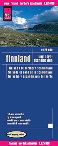 Reise Know-How Landkarte Finnland und Nordskandinavien (1:875.000): world mapping project: Alle Infos bei Amazon