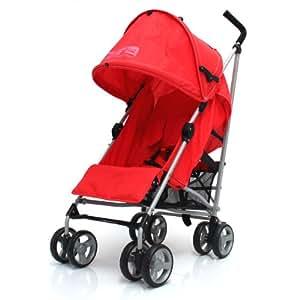 Baby Travel Zeta Vooom - Warm Red Stroller Buggy Pushchair From Birth
