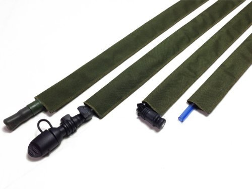 OD Green Hydration Pack Drink Tube Cover by Hydration Tube Covers -