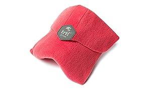 Trtl Pillow – Wissenschaftlich belegt super weiches Nacken unterstützendes Reisekissen - Waschmaschinenfest