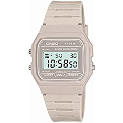 Classic Light Grey Watch F 91WC 8AEF from Casio