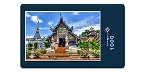 Preisvergleich Produktbild hansepuzzle 12804 Reisen - Tempel in Thailand, 1000 Teile in hochwertiger Kartonbox, Puzzle-Teile in wiederverschliessbarem Beutel