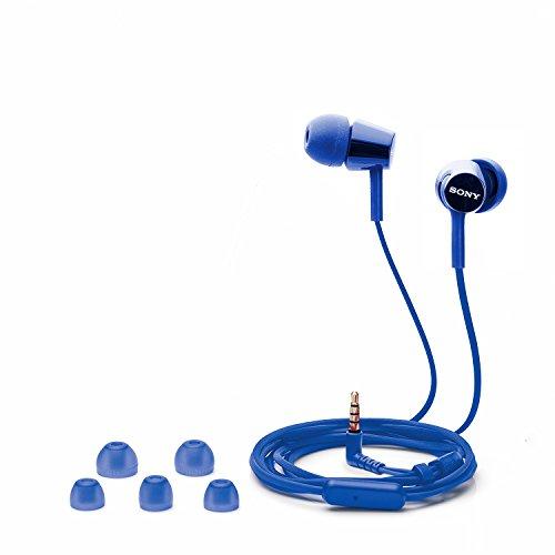 Sony MDR-EX150AP In-Ear Headphones with Mic (Darkish Blue) Image 4