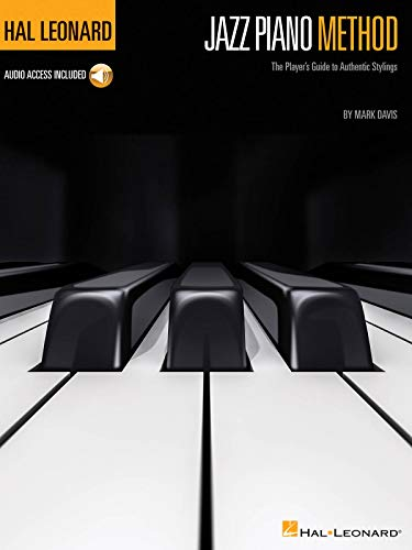 Hal Leonard Jazz Piano Method (Pianoforte Book / Audio Online): Noten, Lehrmaterial, Download (Audio) für Klavier (Hal Leonard Jazz Piano)