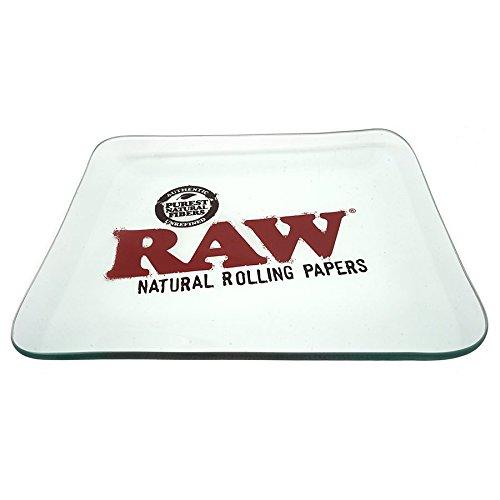 Raw Glas Rolling Tablett–Tablett nur