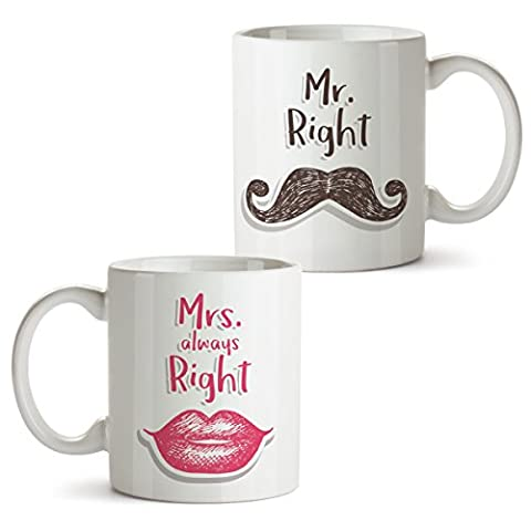 2 Kaffeebecher Set Motiv