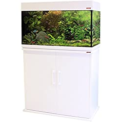 Wave revestimiento de madera armario, 80x 42x 73cm, color blanco
