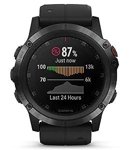 Garmin Fenix 5x Plus Sapphire Black Black GPS