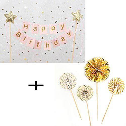 Happy birthday san valentino cake toppers torta decorazione torta decorazione, l'amore+ love you