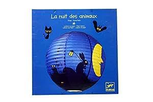 Djeco Déco - Lanterne en papier - La Nuit des Animaux