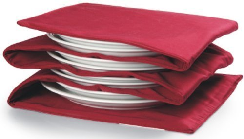 Tellerwärmer, riscalda 1-8Teller, Superficie di calore pro Vassoio ca. 30x30cm (Piastra scalda di, rosso)