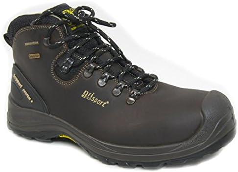 Grisport grs966 – 46 – Botas de seguridad impermeables de los humedales, tamaño: 46, color marrón (Pack de 2)