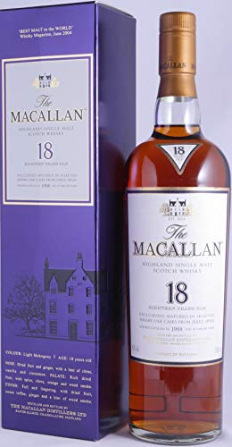Macallan 1988 Single Malt Scotch Whisky 43,0%