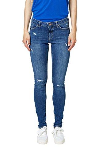 edc by ESPRIT Damen Skinny Jeans 078CC1B008, Blau (Blue Medium Wash 902), W29/L32