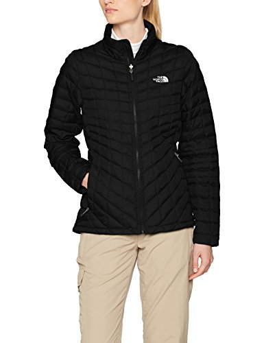 The North Face W Thermoball Z-In Chaqueta, Mujer, TNF Black, L