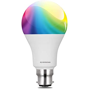Riversong Juno 10W Smart Bulb - Compatible with Amazon Alexa and Google Home Assistant (White)