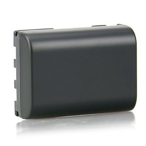 Pixtic - Batterie Accumulateur lithium-ion remplacement NB-2LH haute capacité pour Canon EOS 350D 400D Powershot G7 G9 S30, S40, S45, S50, S60, S70, S80, DC410, DC420 [Li-ion | 1900mAh | 7.4V]