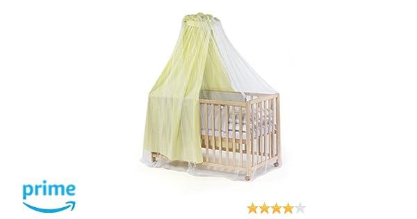Diago 30013.71363 insektenschutz für kinderbett mit himmel weiß