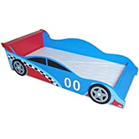 Kiddi Style Children's Racing Car Wooden Junior Bed