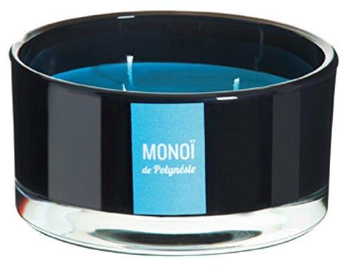 DEVINEAU 1611533vela armario con 3mechas monoï de Polinesia, turquesa/negro lacado