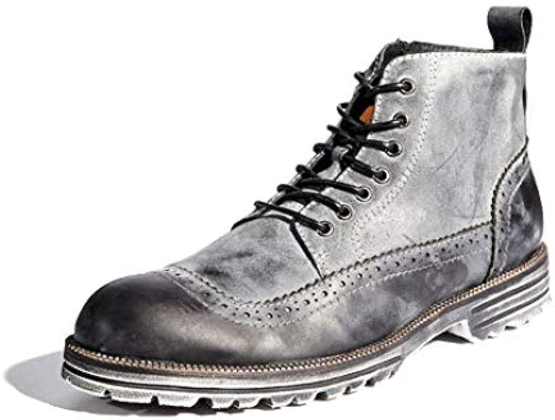 Hombre Montacute Lord Botines Brogues Zapatos De Piel De Chukka Botas Martin