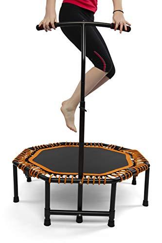 Powerball Fitness Zimmertrampolin für Erwachsene und Kinder - Muskelaufbautraining in Beine und Oberkörper, Koordination und Balance