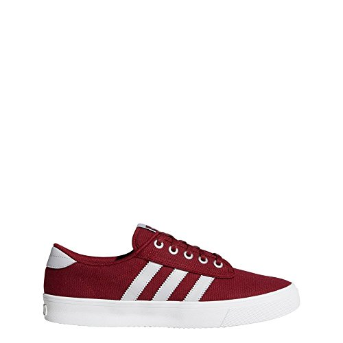 adidas Kiel, Chaussures de Gymnastique Mixte Adulte, Multicolore (Collegiate Burgundy/LGH Solid Grey/Ftwr...