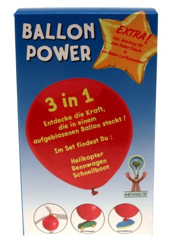 (Kingdiscount 72 Stück Eco-Friendly Bausatz Ballon Power 3 in 1)