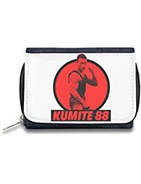 Kumite 88 Monedero de Cremallera Bolso Zipper Wallet| The Stylish Pouch To Keep Everything Organized| Ideal For Everyday Use & Traveling| Authentic Accessories By Hamerson