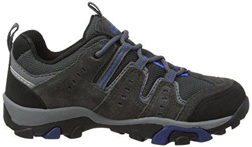 Jack Wolfskin MTN STORM TEXAPORE B Jungen Trekking- & Wanderhalbschuhe Grau (Dark Grey 1127)