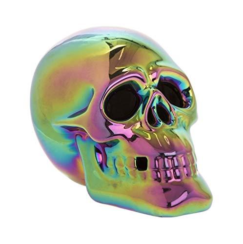 Lesser & ☛ Crâne Lumineux à LED Multicolores Multicolore