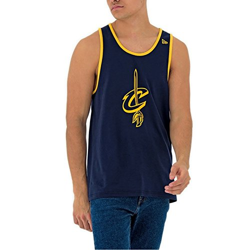 56dacf27f38 A NEW ERA New Era Tank Top – NBA Cleveland Cavaliers Team App Pop Logo Blue