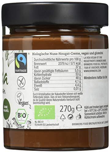 Brinkers La Vida Vegan Bio Nuss-Nougatcreme, 270 g - 5