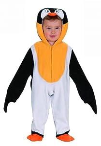 WIDMANN Pingüino Mono Niño withHeadpiece Disfraz infantil de Animal Jungle Farm vestido de lujo