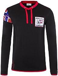 T182 - NEBULUS Sweatshirt INUIT, Hoody, T Shirt lang, Lifestyle