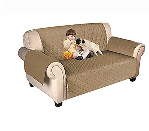 LOHUA Sofa Überwurf Schonbezug Sehr Weich Sofa Abdeckung Top Qualität Sesselauflage Aus Polster Material Umweltschutz Sofahusse Couch,Loveseat:188X116cm (Drei Sitz Stoff Loveseat)