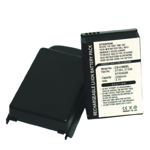 Bluetrade doppelter Kapazität Akku (2200 mAh) mit Abdeckung für HTC S310