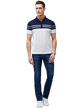 Los hombres de Moda camisa de manga corta Camisetas delgadas costuras