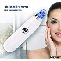 Rozols 4 in 1 Multi-function Blackhead Whitehead Extractor Remover Device - Acne Pimple Pore Cleaner Vacuum Suction Tool For Men And Women