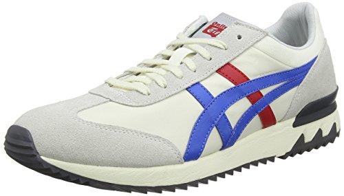 Asics Unisex-Erwachsene California 78 Ex Sneaker, Grau (Cream/Classic Blue 0042), 43.5 EU (Blue Schuhe Erwachsenen-california)