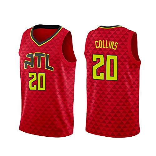 ren Basketball-Trikot - NBA Atlanta Hawks Swingman Sport-Trikot-T-Shirt Red-L ()