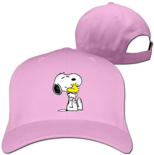 oopy Peanut Adjustable Snapback Trucker Cap Pink One Size ()