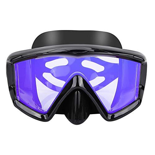 FRFJY Masque de plongée en apnée Masque Anti-buée Masque de plongée Masque de plongée avec Miroir en Grenouille Combinaison de plongée en apnée Non-plongée en apnée