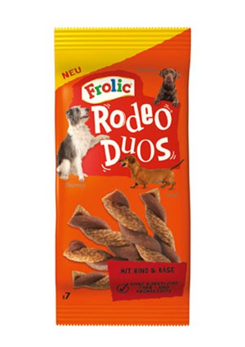 frolic rodeo 10er Pack Frolic Snack Rodeo Duos 7 Stück