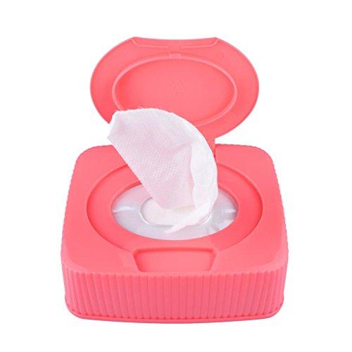 MagiDeal Makeup Remover Cleansing Towelettes 120pcs- Makeup Entferner Reinigungstücher, Abschminktücher -