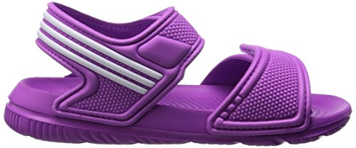 adidas Originals Akwah 9, Scarpe primi passi bambini Flash Pink/Ftwr White Multicolore (Rosa / Blanco)