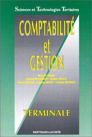 Comptabilité et gestion, terminale, sciences et technologies tertiaires