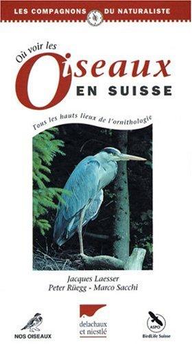 Où voir les oiseaux en Suisse