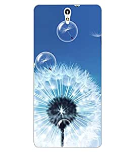 ColourCraft Amazing Flower Design Back Case Cover for SONY XPERIA C5 ULTRA DUAL