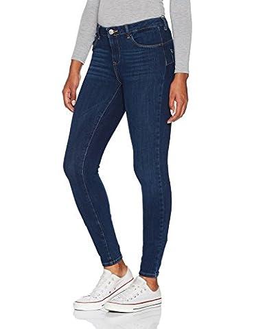 VERO MODA Damen Slim Vmicon NW Push UP Dark B Jean BA411 Noos Blau (Dark Blue Denim), 36/L32 (Herstellergröße: